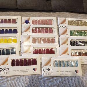 Color street nail sets